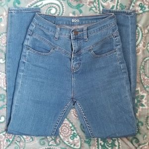 Urban outfitters BDG skinny high rise seam jeans